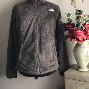 The Northface Womens Fuzzy Furry Jacket Medium